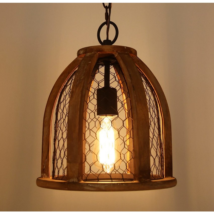 VintageStyle Farmhouse Kitchen Pendant Light, Antique Brown  Pendant  Whoselamp
