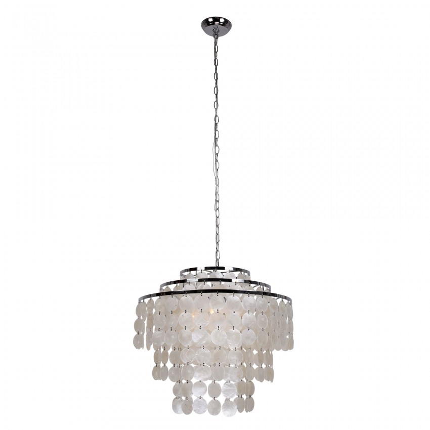 Devry 3 light seashell chandelier whoselamp more views devry 3 light seashell chandelier aloadofball Image collections