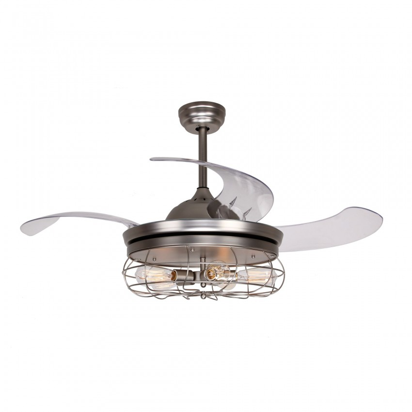 More Views 42 Inch Caged Ceiling Fan With Light