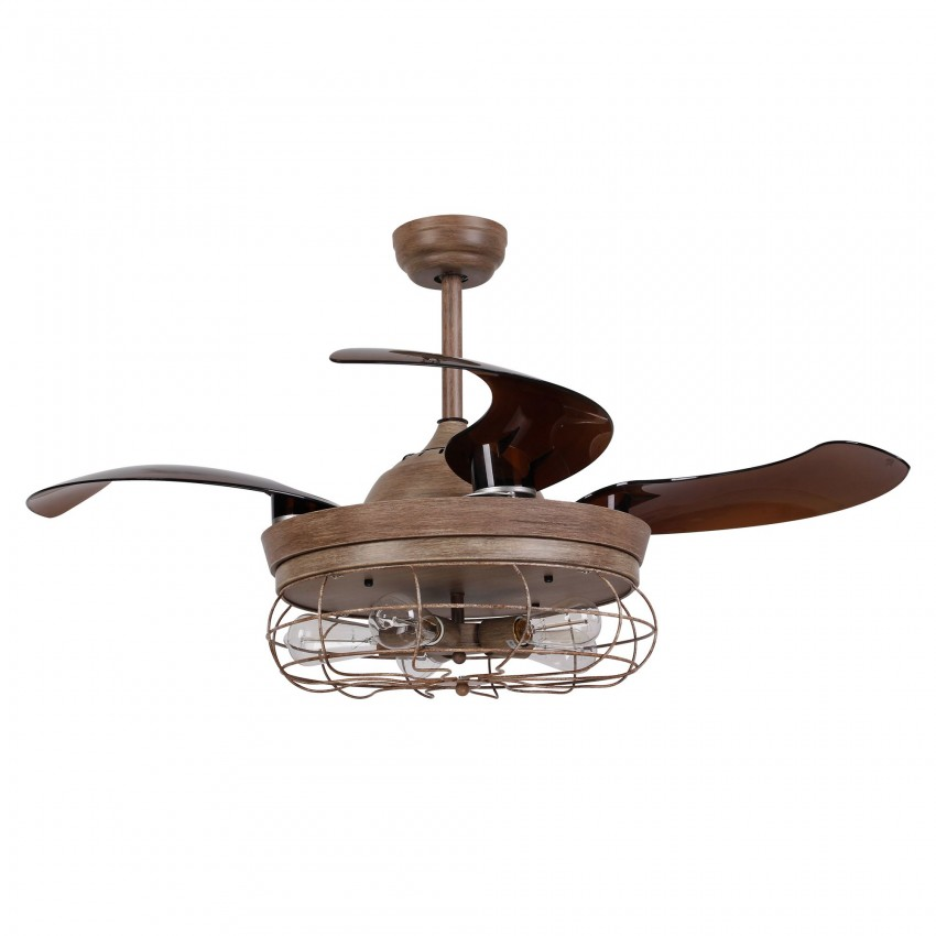 42 5 Quot Benally 4 Blade Ceiling Fan With Remote Weathered