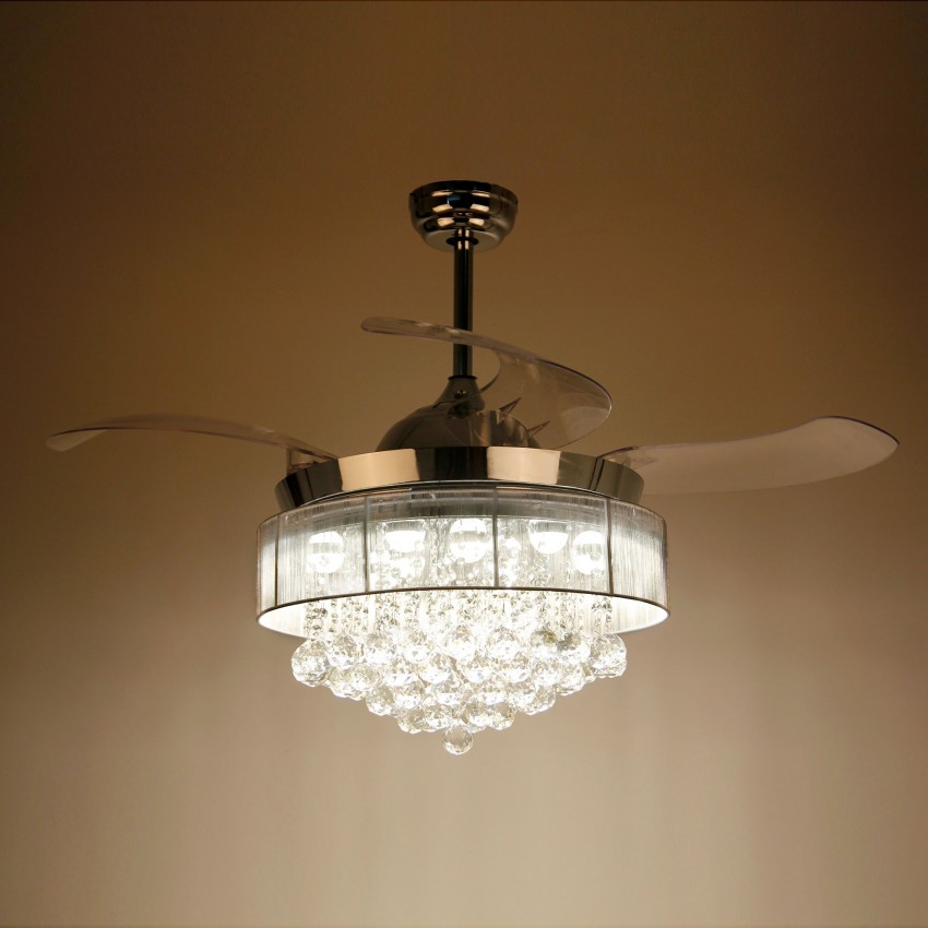 43 Quot Broxburne Cool Light 4 Blade Led Ceiling Fan With