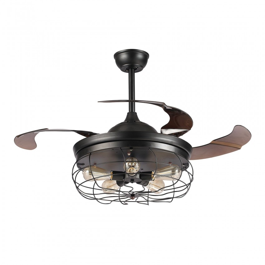 More views 42 inch industrial caged ceiling fan