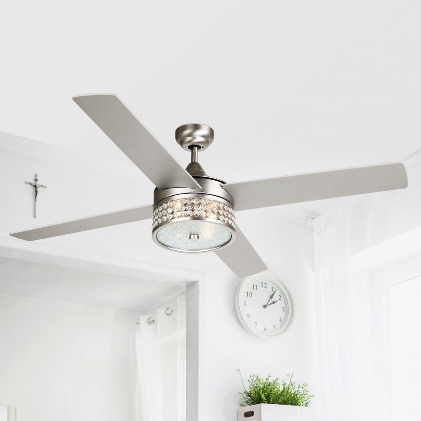 """52"""" Cason 4-Blade Ceiling Fan with Wall Remote"""