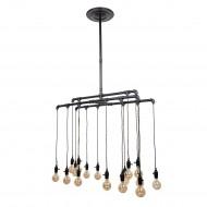 Industrial Ceiling Lamp, Steel