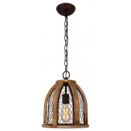 Vintage-Style Farmhouse Kitchen Pendant Light, Antique Brown