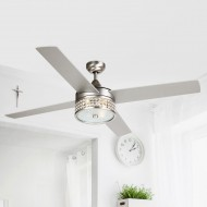 "52"" Cason 4-Blade Ceiling Fan with Wall Remote"