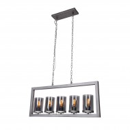 Topeka 5-Light Kitchen Island Pendant