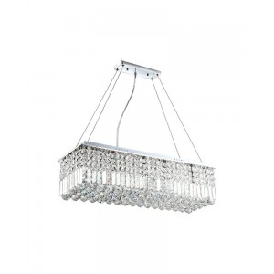 Crystal Ornaments Chandelier, 8-Light