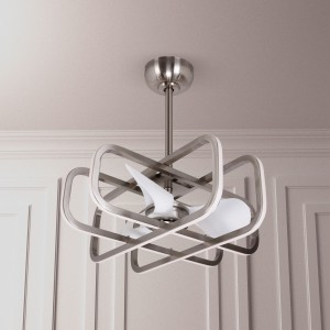 """27"""" Monteiro 3 Blade LED Ceiling Fan with Remote"""