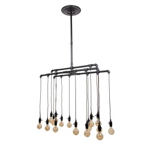 Industrial Ceiling Lamp, Steel