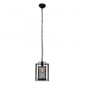 Bundoran Industrial 1 Light Mini Cage Pendant