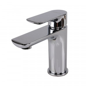 Modern Single Handle Project Pack Lavatory Faucet, Chrome