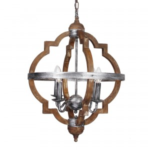 Bennington 4-Light candle style chandelier