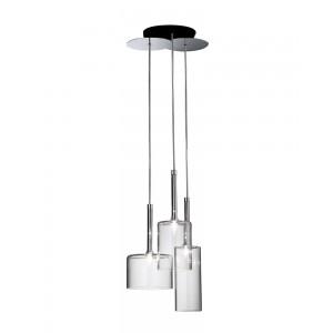 Crystal 3-Light Bottle-Shaped Pendant Light