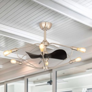 Parryville 3 Blade Ceiling Fan with Remote