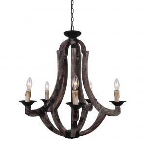 Winton 5-Light Candle Chandelier