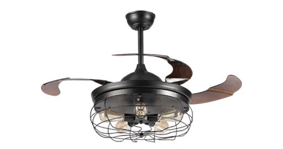 new style ceiling fans 42 inch after large research of customers requires breaking the traditional extend blades ceiling fan design whoselampcom comes out new style fan dimmable led ceiling fan foldable with light and remote